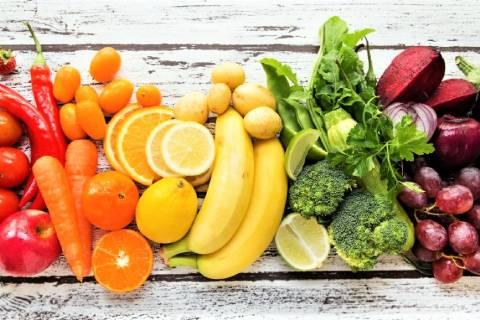 kolory warzyw