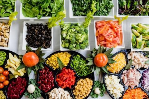 Barwy warzyw